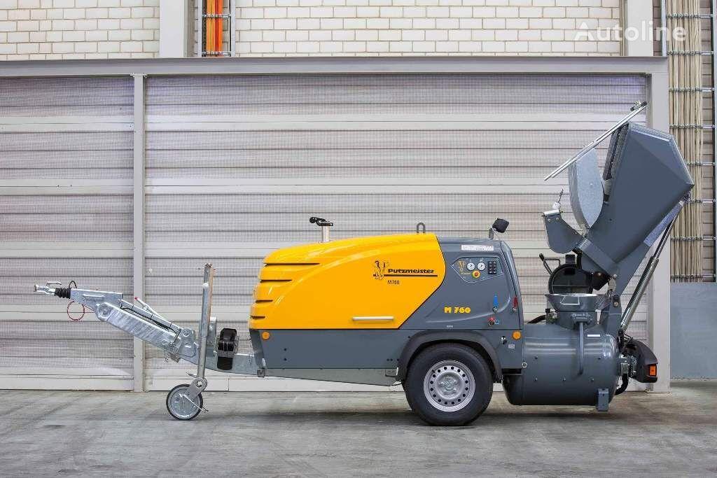 PUTZMEISTER M760DHB stationary concrete pump