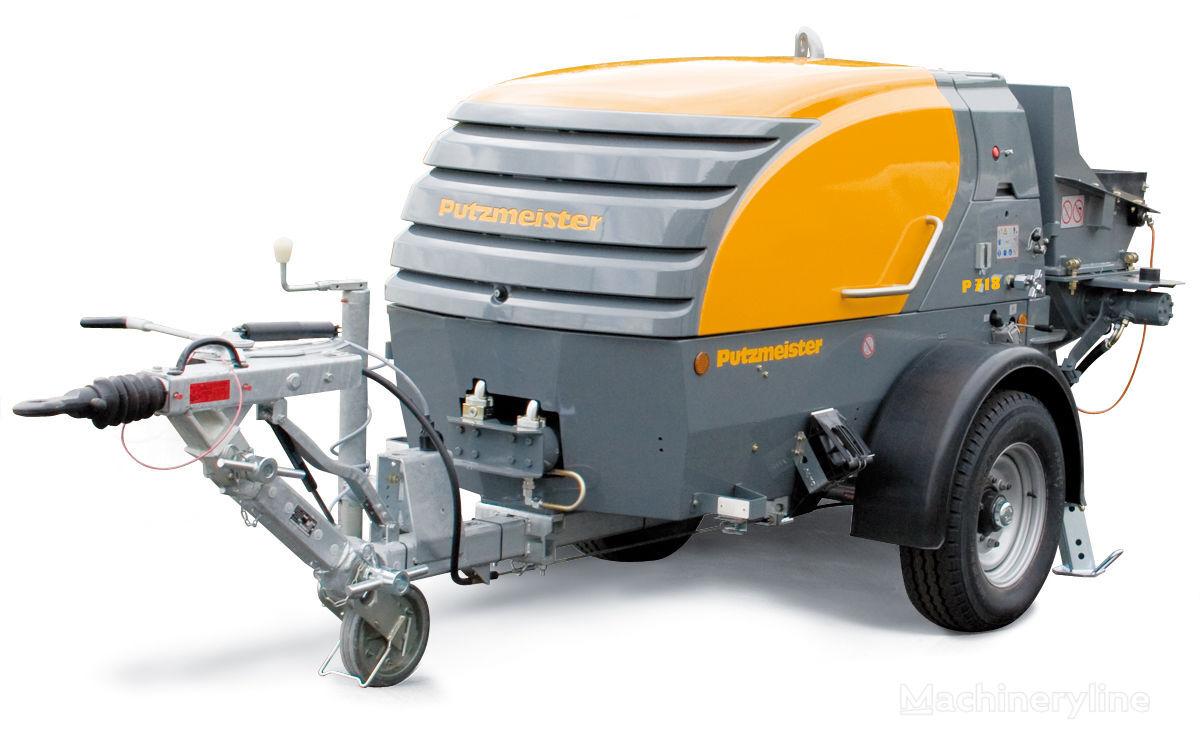 new PUTZMEISTER P 718 stationary concrete pump