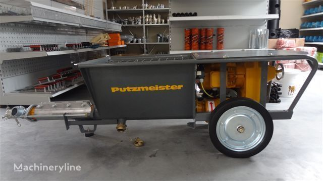 new PUTZMEISTER S5 EV stationary concrete pump