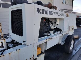 SCHWING WP 750-18X stationary concrete pumps for sale, trailer