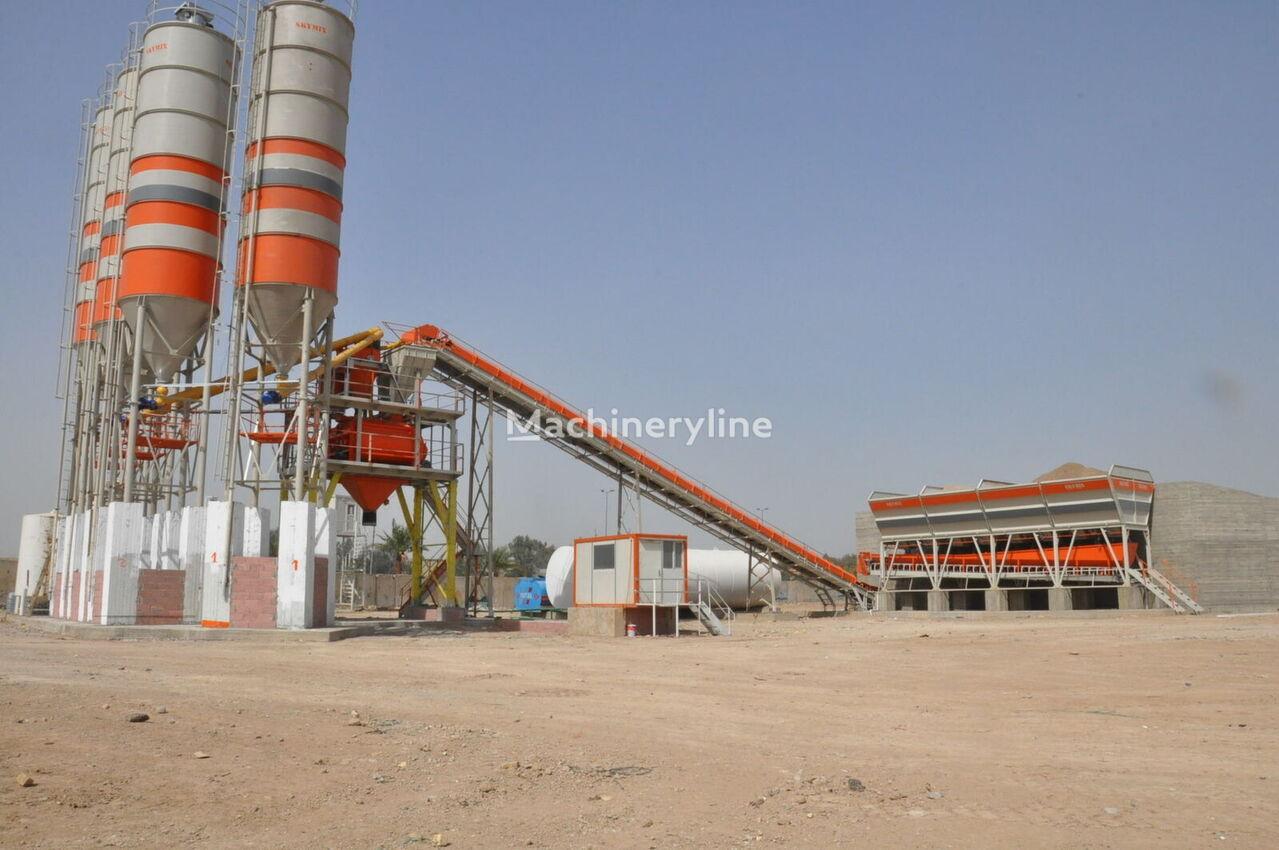 new SKYMIX SKY 130S stationary concrete pump