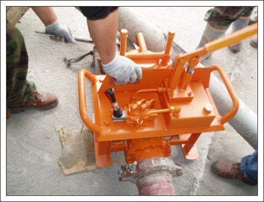 new Gidravlicheskie zadvizhki betonovoda (Yuzhnaya Koreya) stationary concrete pump