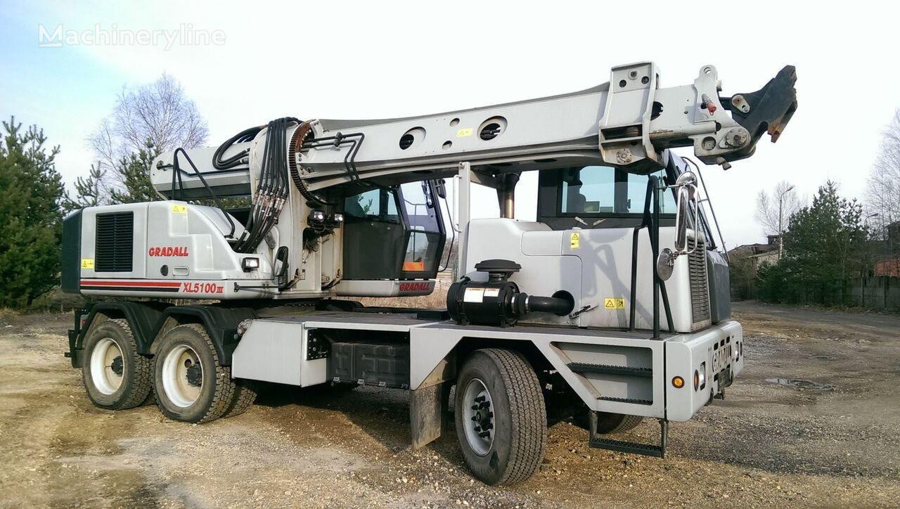 GRADALL XL5100 III telescopic boom excavator