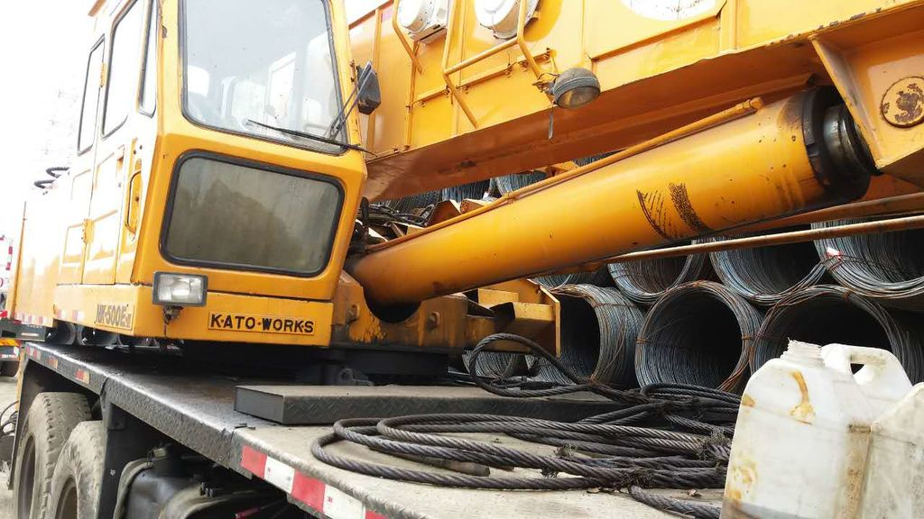 KATO NK500   telescopic boom excavator