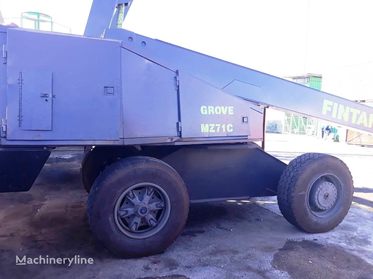 GROVE MZ71C 4WD telescopic boom lift