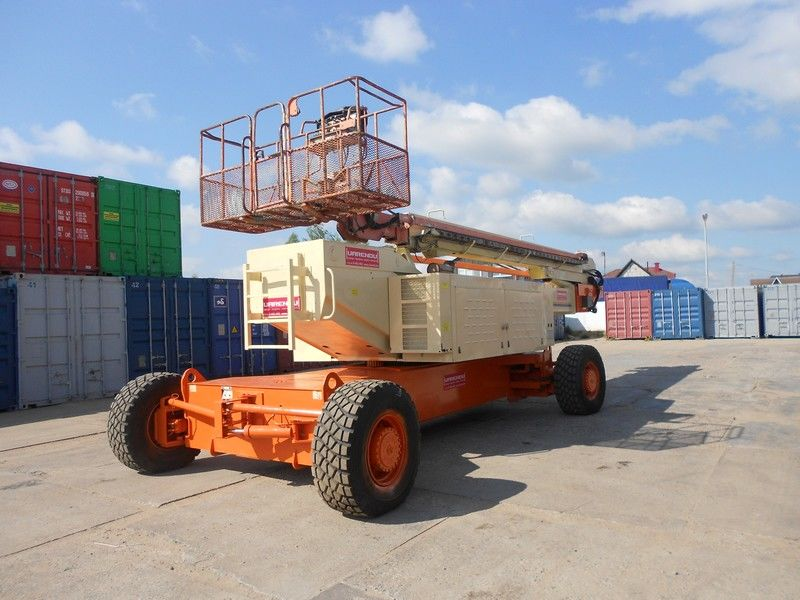 JLG 150HAX, Diesel, 4x4, 47.7m telescopic boom lift