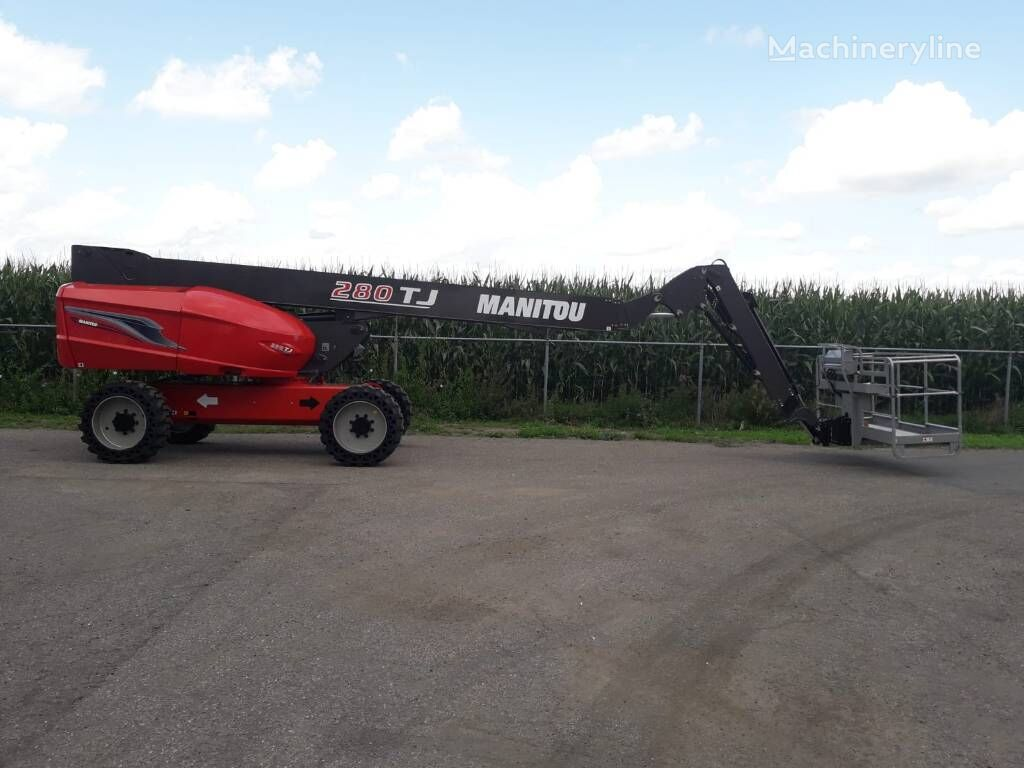 new MANITOU 280 TJ telescopic boom lift