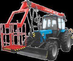 MTZ Podemnik montazhnyy specialnyy OPT 9195 telescopic boom lift