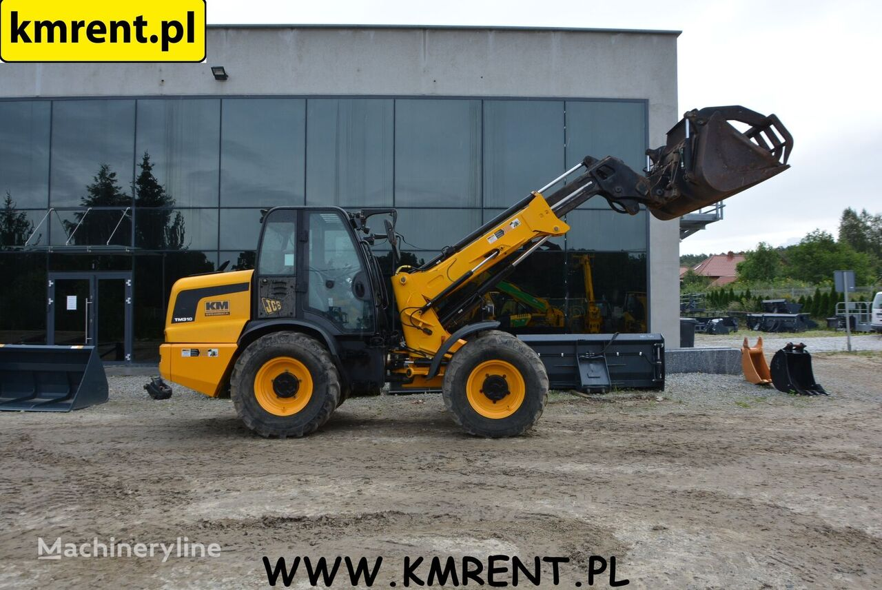 JCB TM 310 telescopic wheel loader