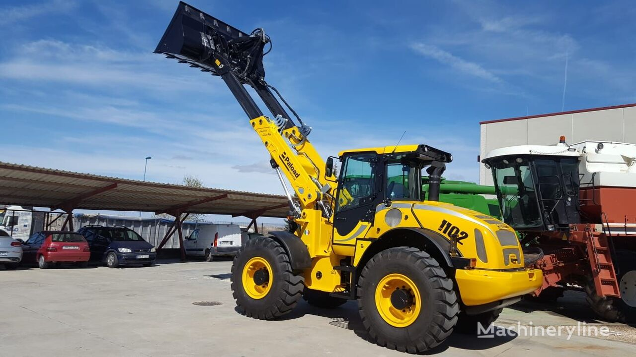 new PALAZZANI PT 1102 telescopic wheel loader