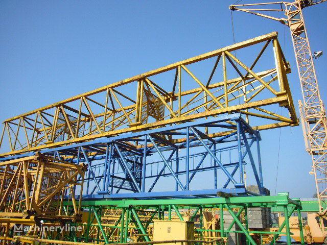 PEINER Turmstücke S7 und Adapterscheibe TS 20 auf TS 18 tower crane