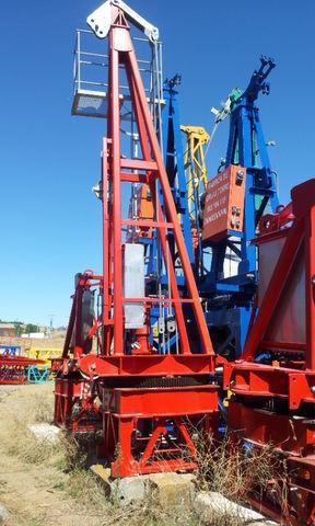 SAEZ s 46 opcion base y cabina tower crane