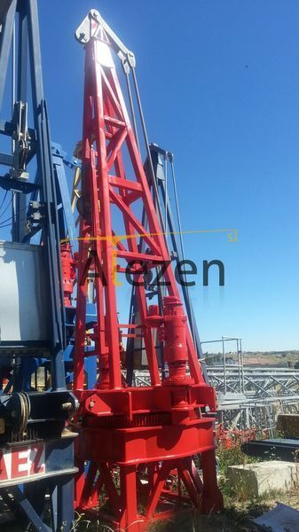 SAEZ s 52 opcion base tower crane