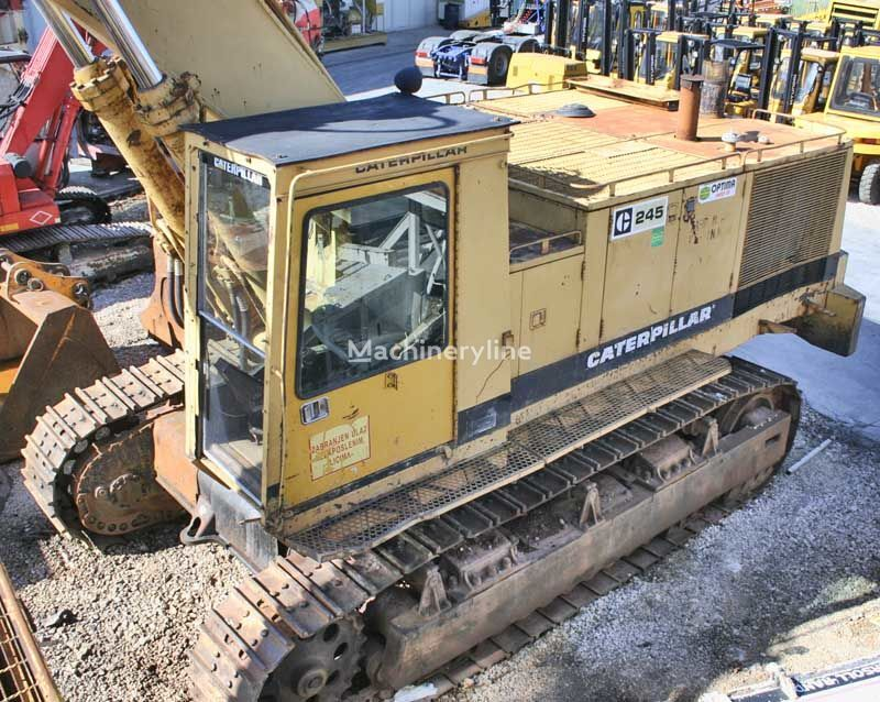 CATERPILLAR 245 tracked excavator