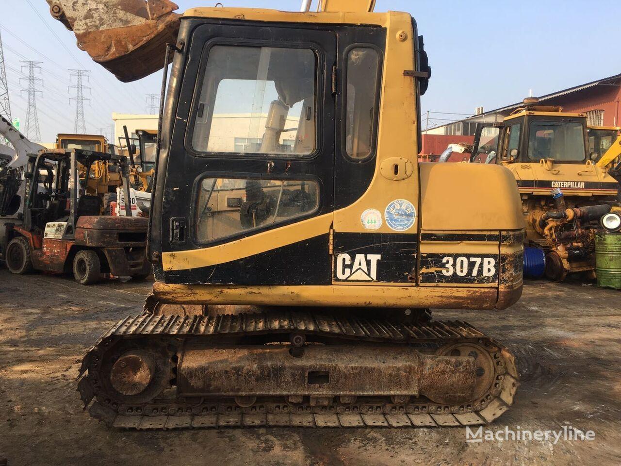 CATERPILLAR 307B tracked excavator