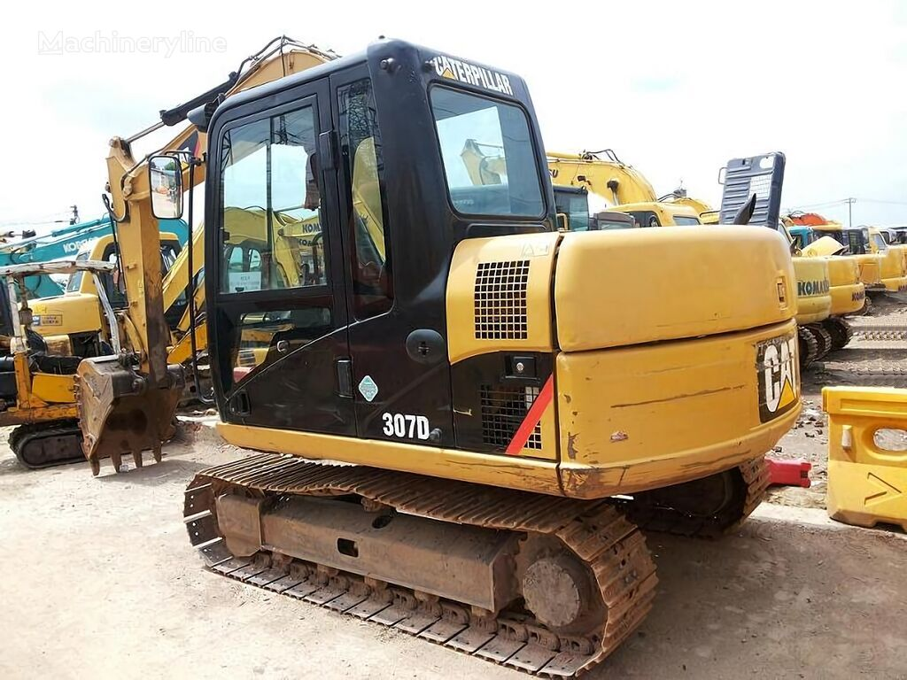 CATERPILLAR 307D tracked excavator