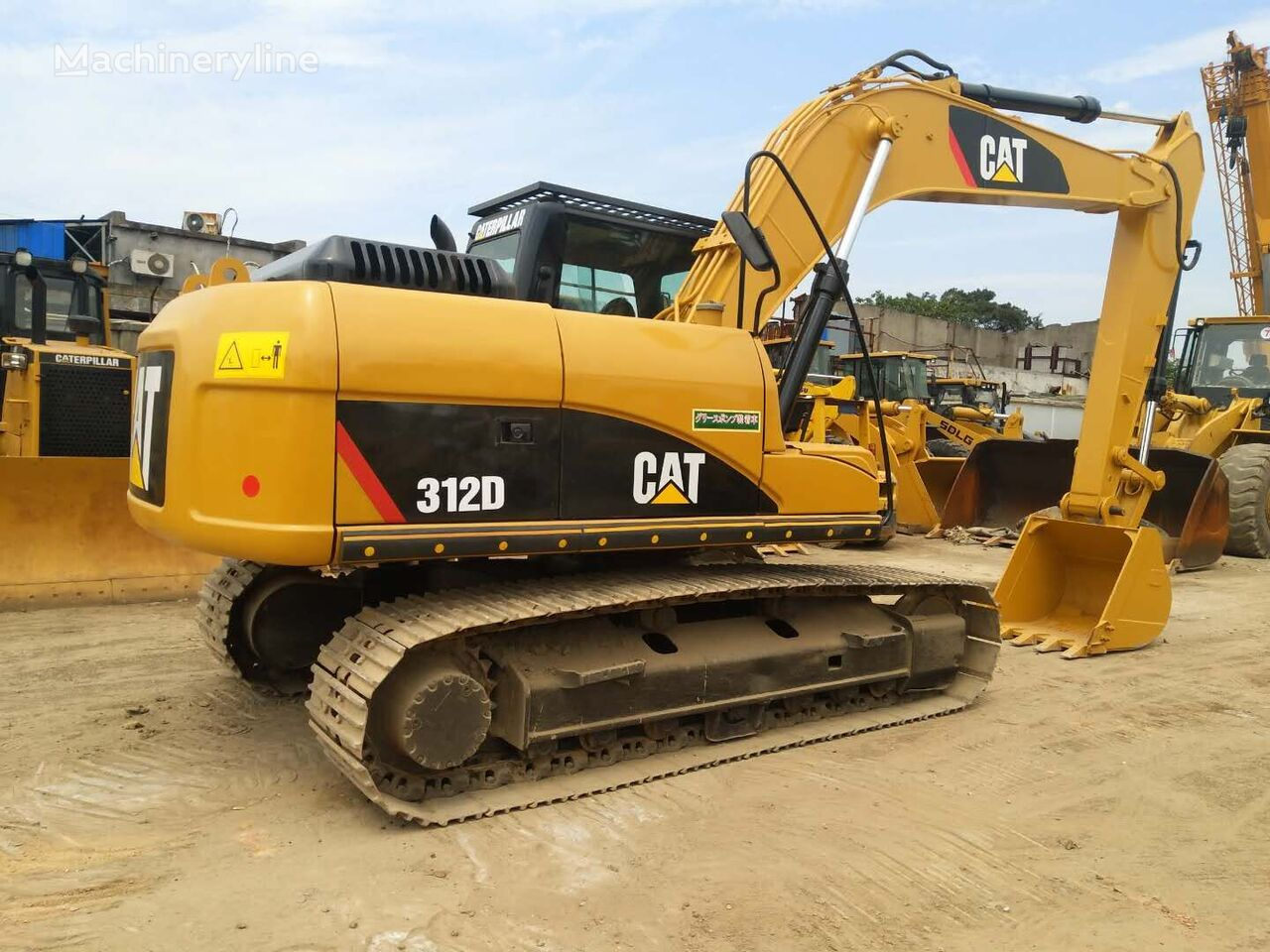 CATERPILLAR 312D  tracked excavator
