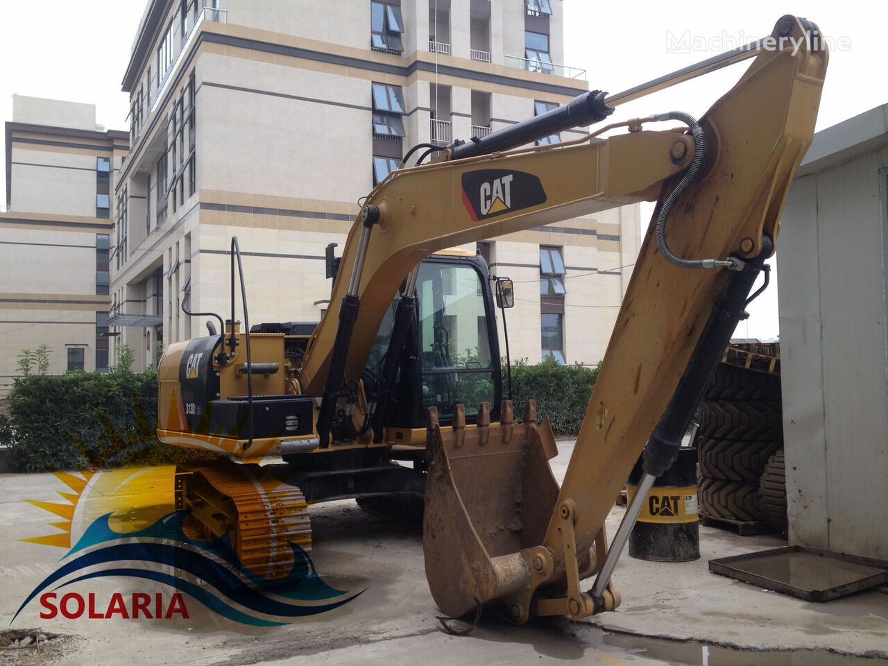 CATERPILLAR 313D2 GC tracked excavator