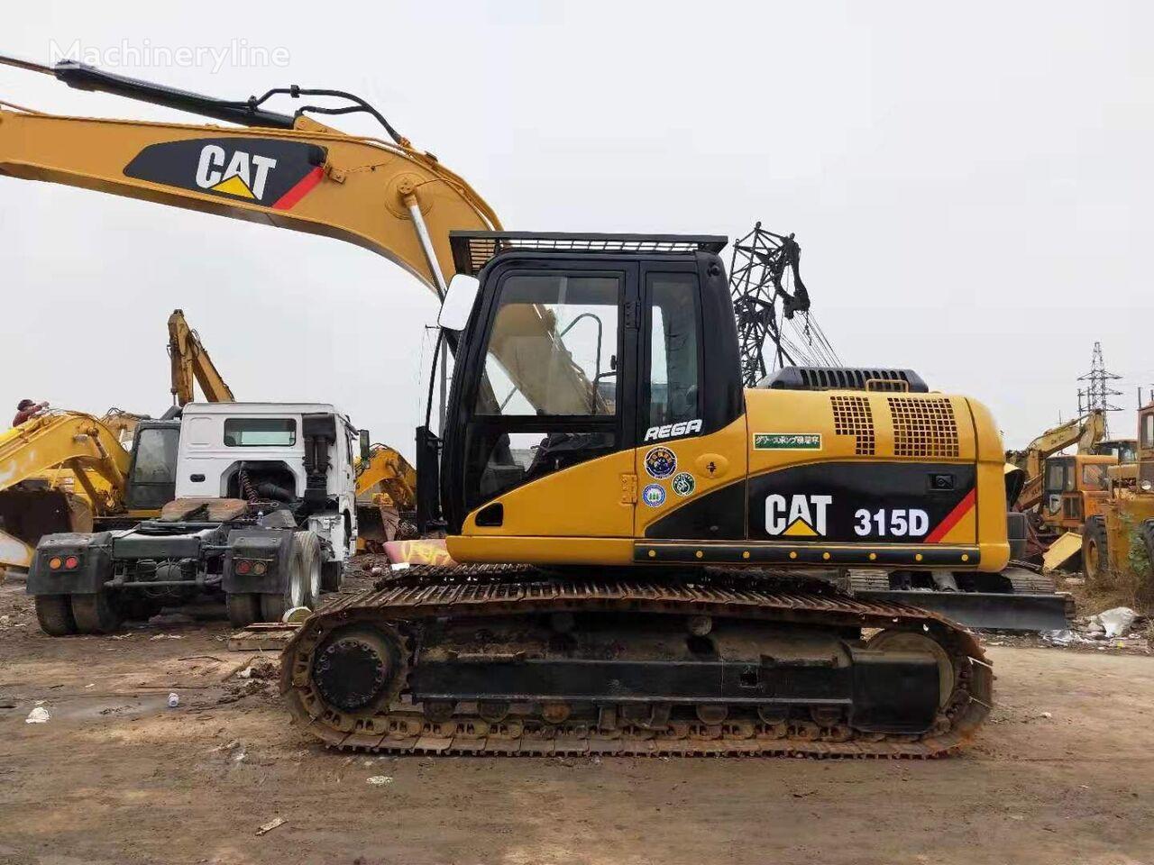 CATERPILLAR 315D tracked excavator