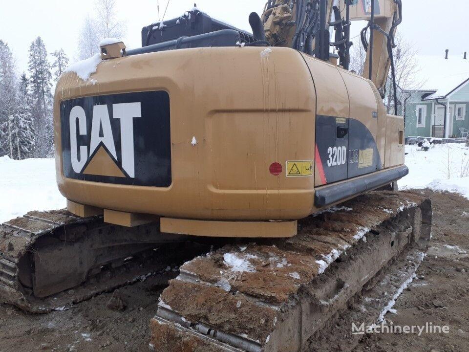 CATERPILLAR 320 D LRR tracked excavator