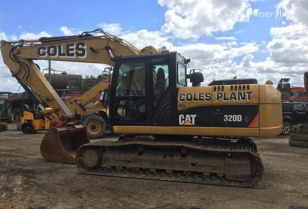 CATERPILLAR 320 DL tracked excavator