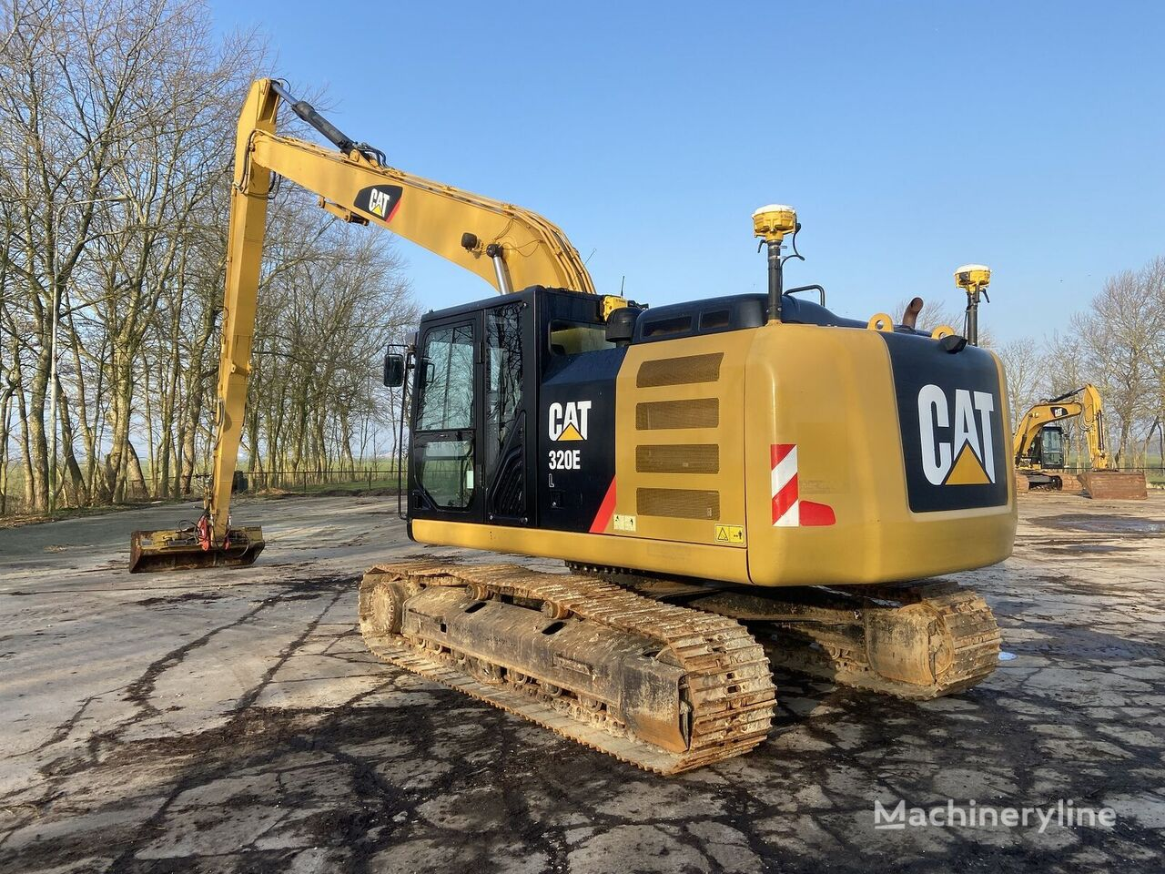 CATERPILLAR 320-EL  tracked excavator