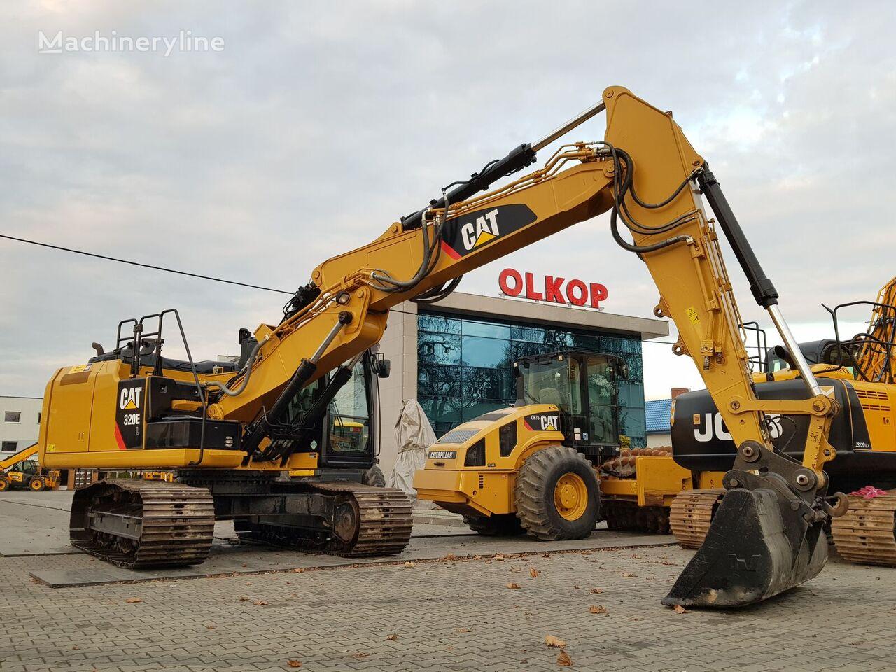 CATERPILLAR 320E tracked excavator