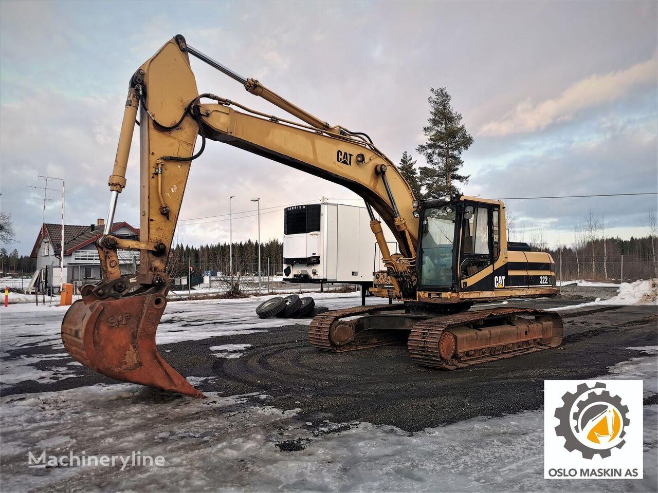 CATERPILLAR 322L tracked excavator