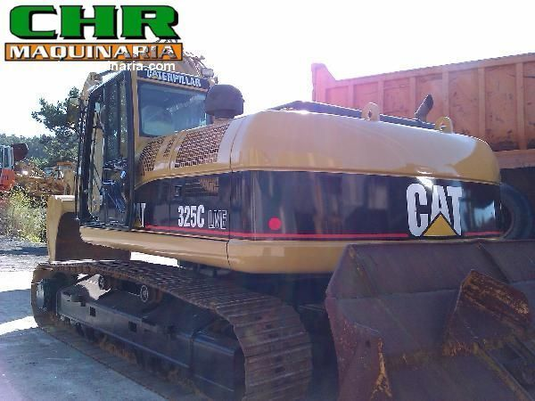 CATERPILLAR 325C tracked excavator