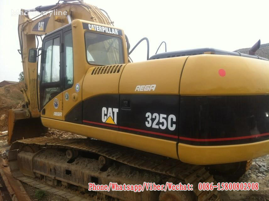 CATERPILLAR 325C tracked excavator for parts