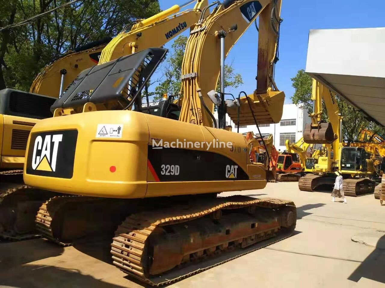 CATERPILLAR 329D  tracked excavator