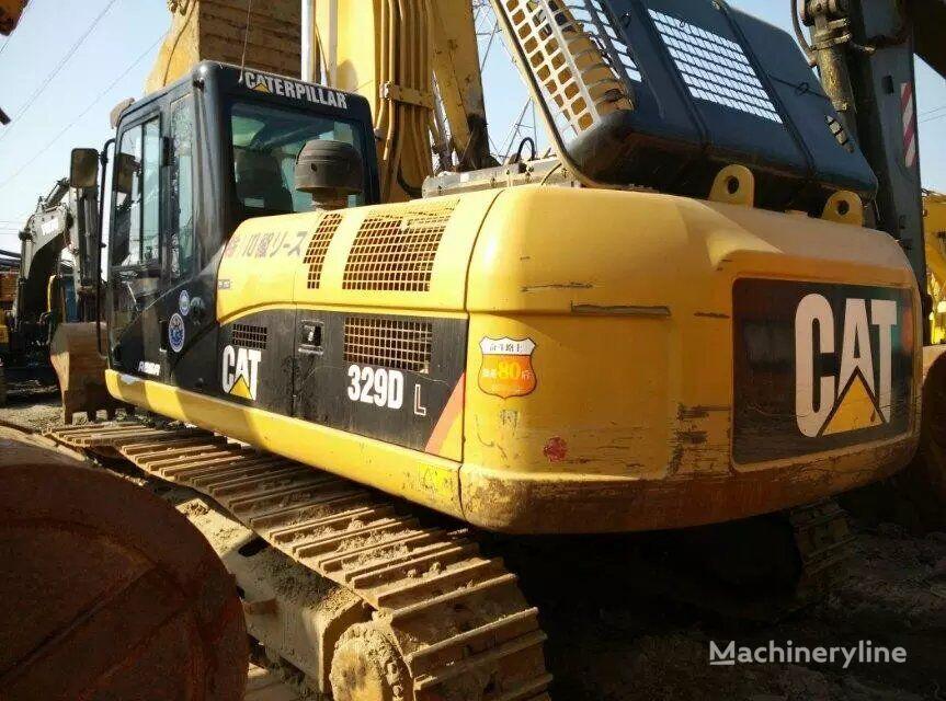 CATERPILLAR 329DL tracked excavator