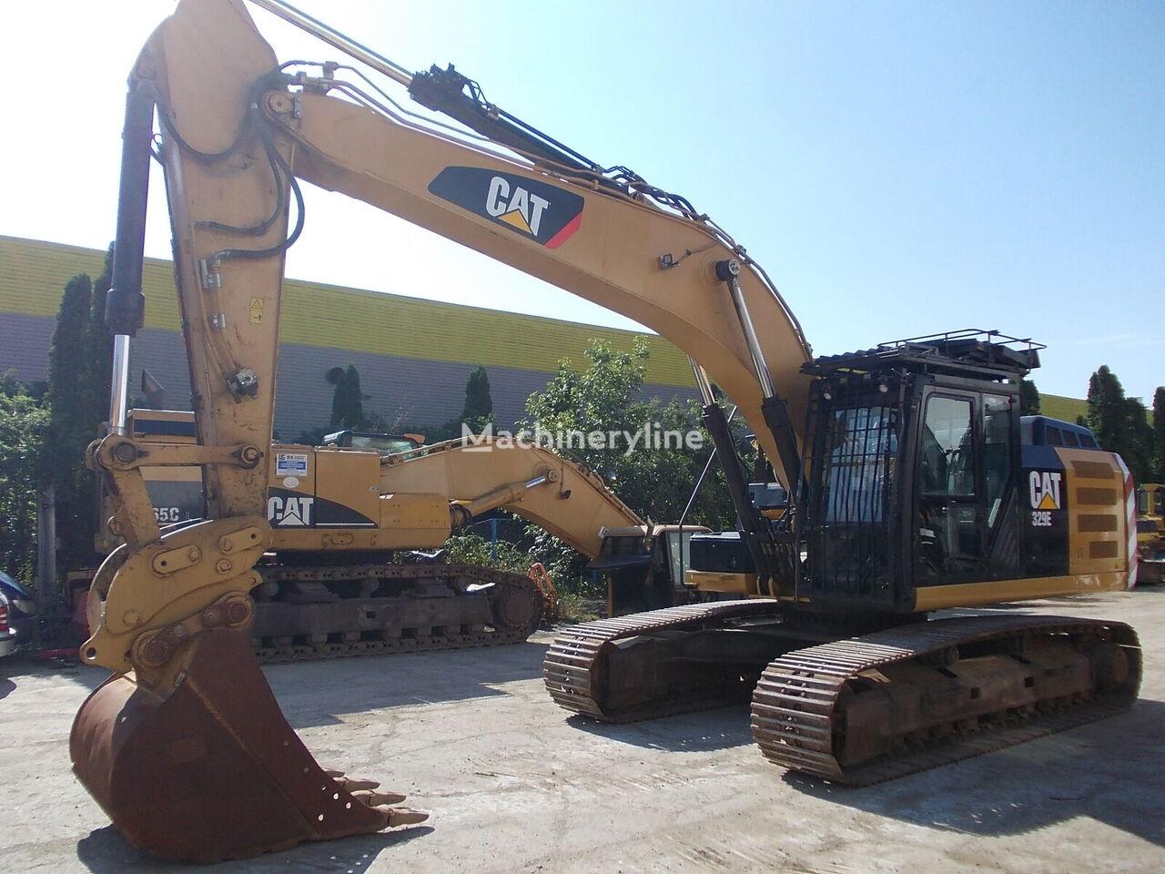 CATERPILLAR 329EL tracked excavator