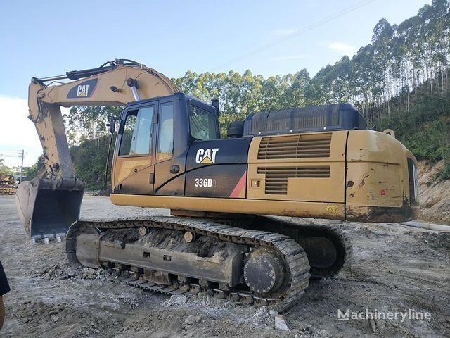 CATERPILLAR 336D tracked excavator