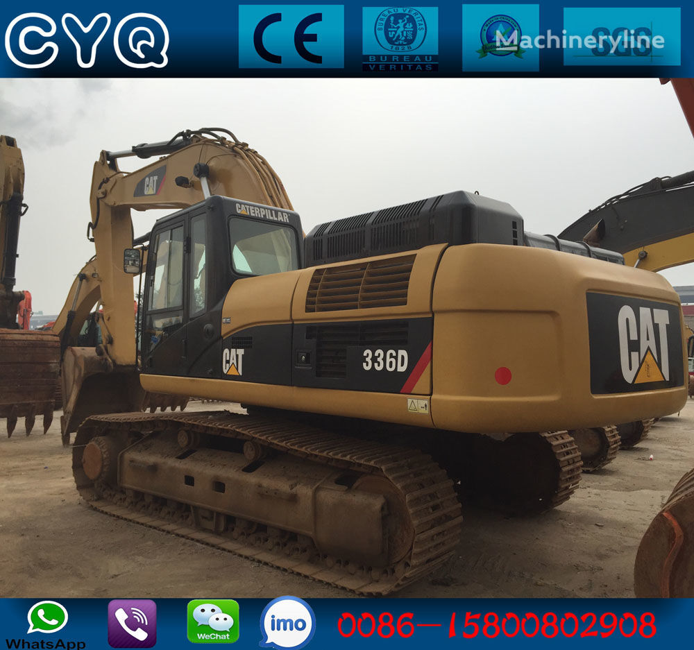 CATERPILLAR 336D tracked excavator for parts