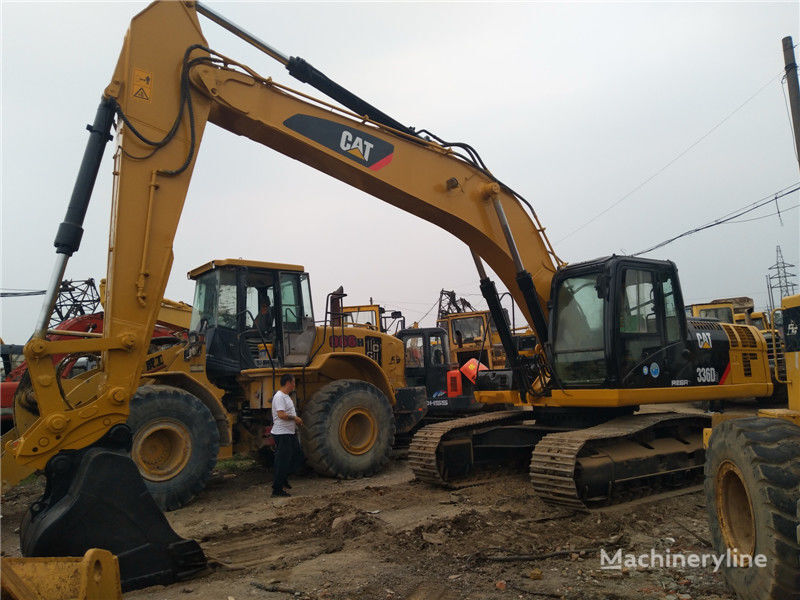 CATERPILLAR 336D2 tracked excavator