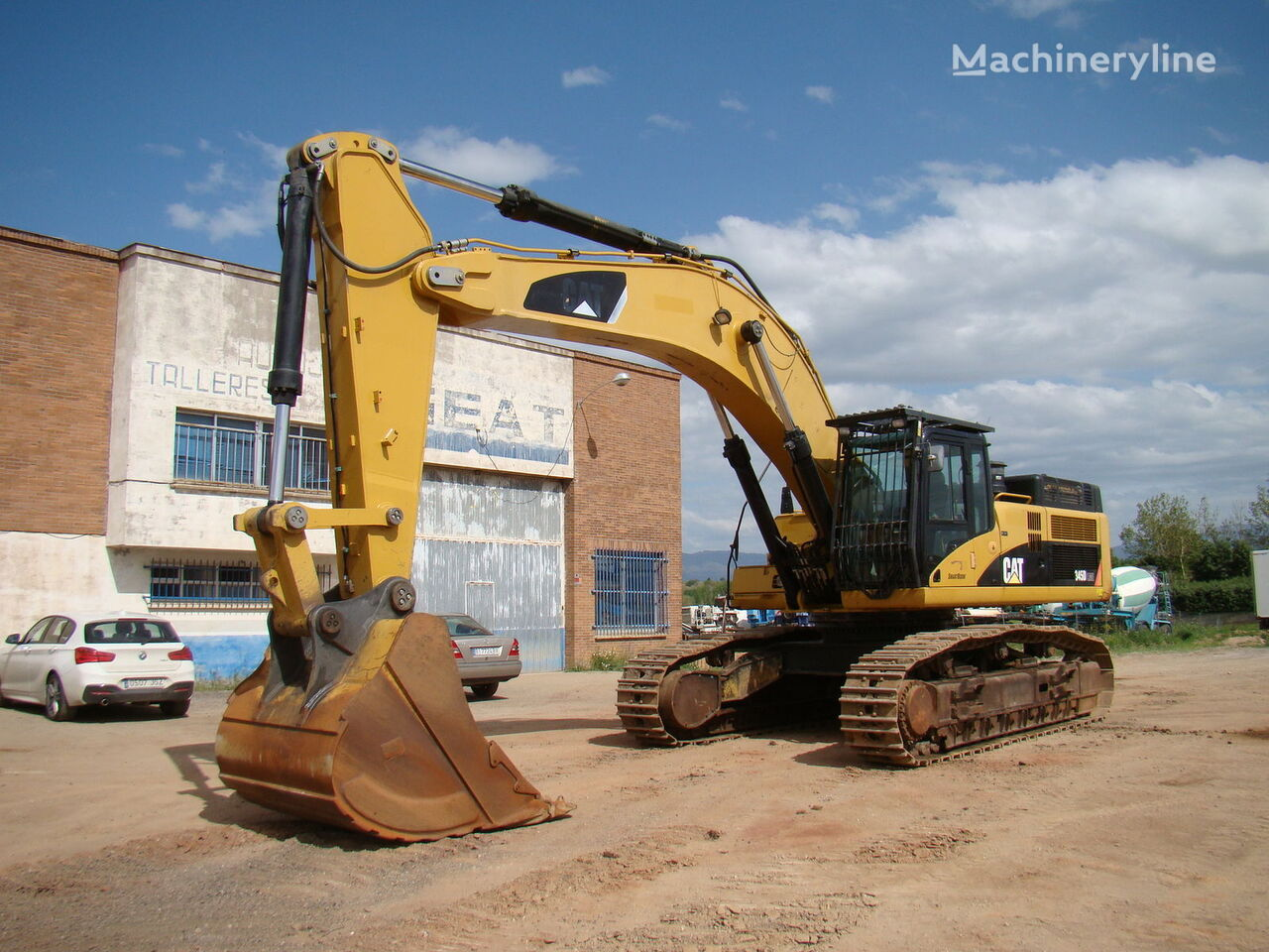 CATERPILLAR 345 DL ME tracked excavators for sale, tracked digger