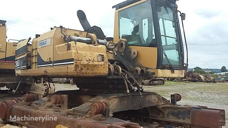 CATERPILLAR 345B II tracked excavator