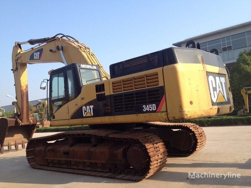 CATERPILLAR 345D tracked excavator