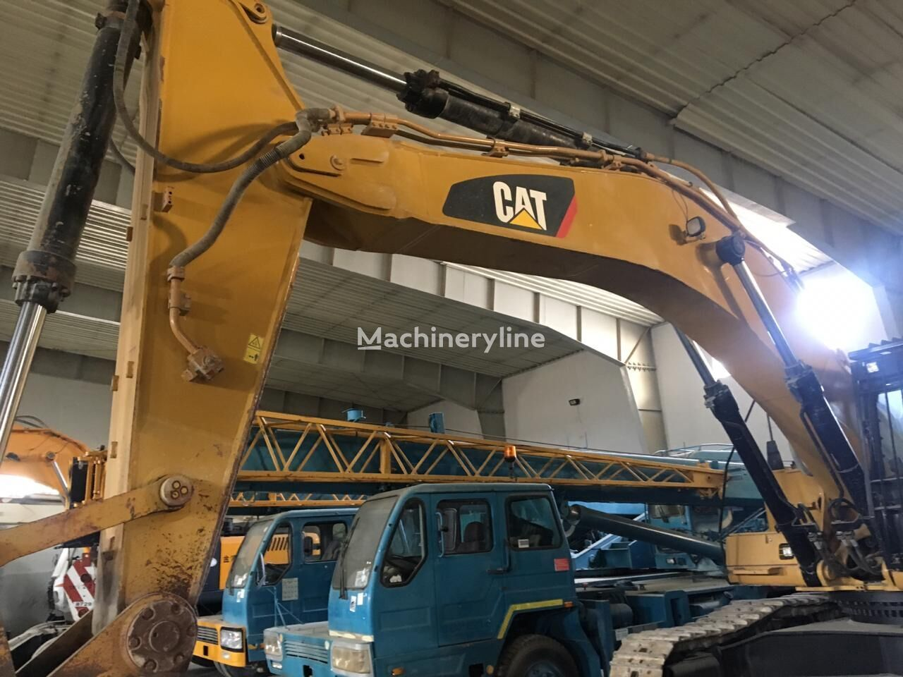 CATERPILLAR 349DL tracked excavator