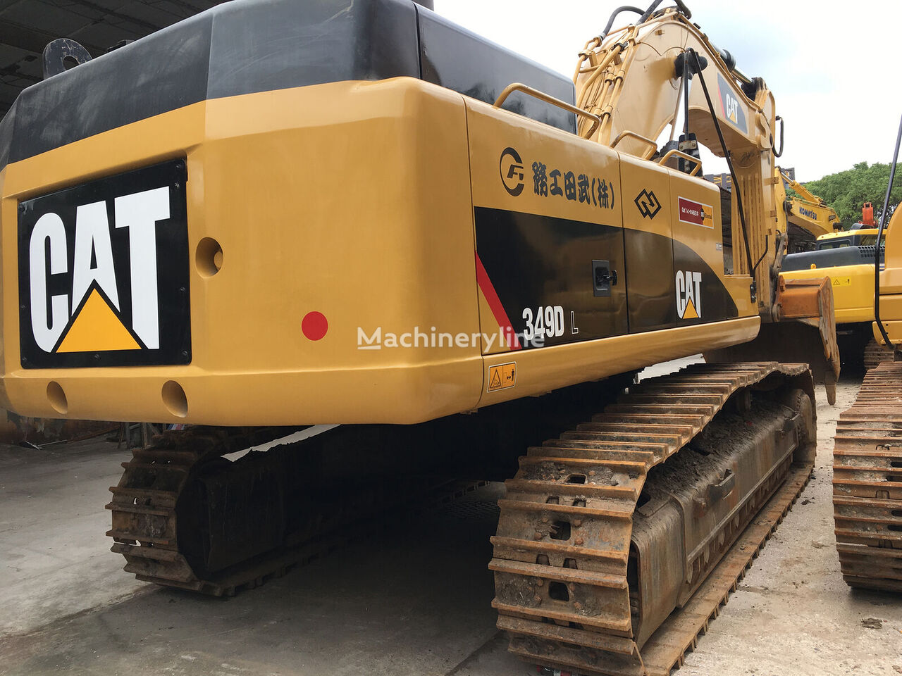 CATERPILLAR 349DL tracked excavator