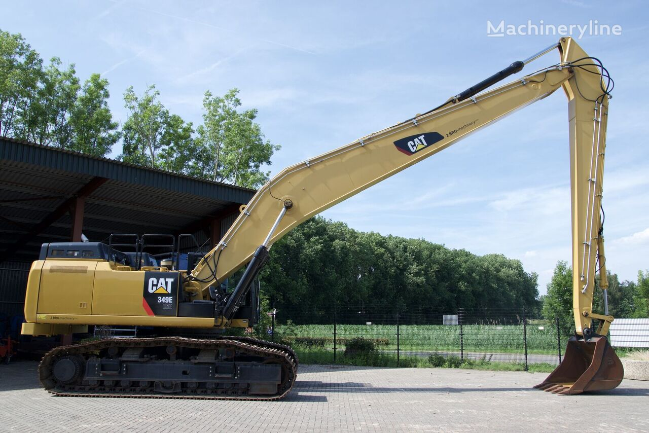 new CATERPILLAR 349E LRE tracked excavator