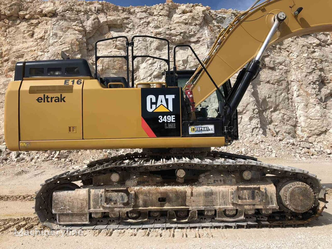 CATERPILLAR 349ELVG tracked excavator