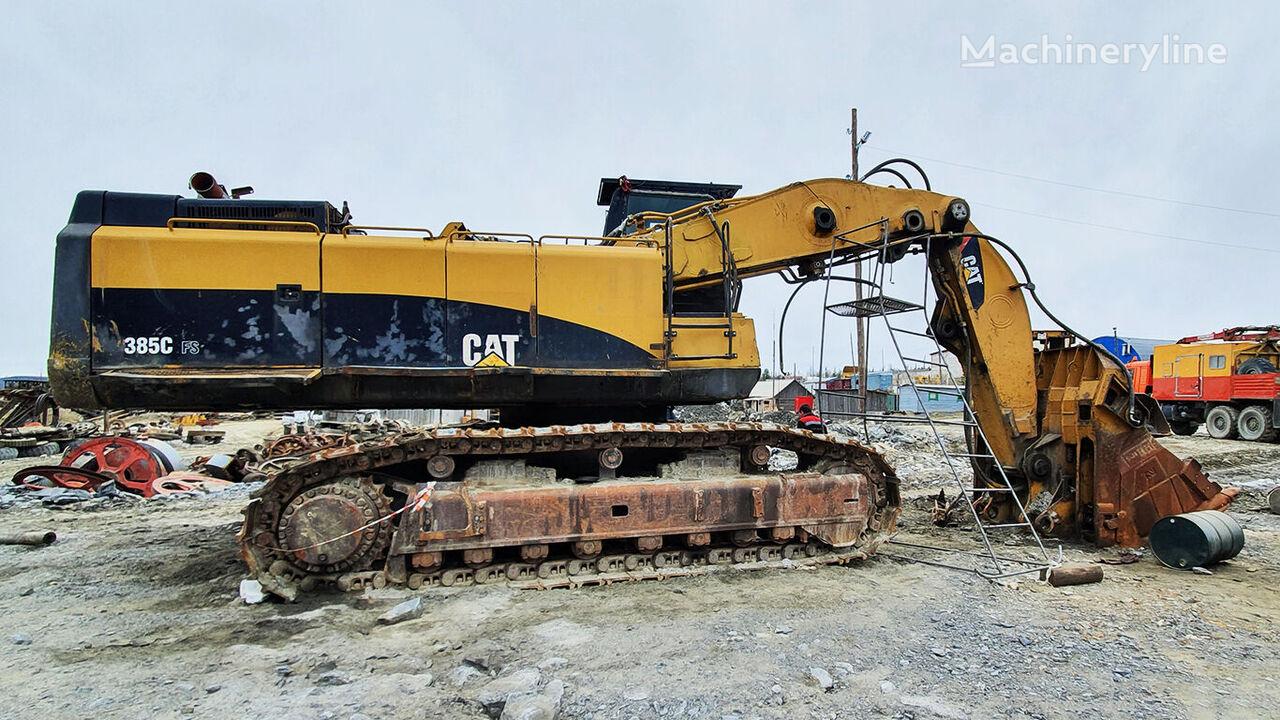 CATERPILLAR 385C tracked excavator