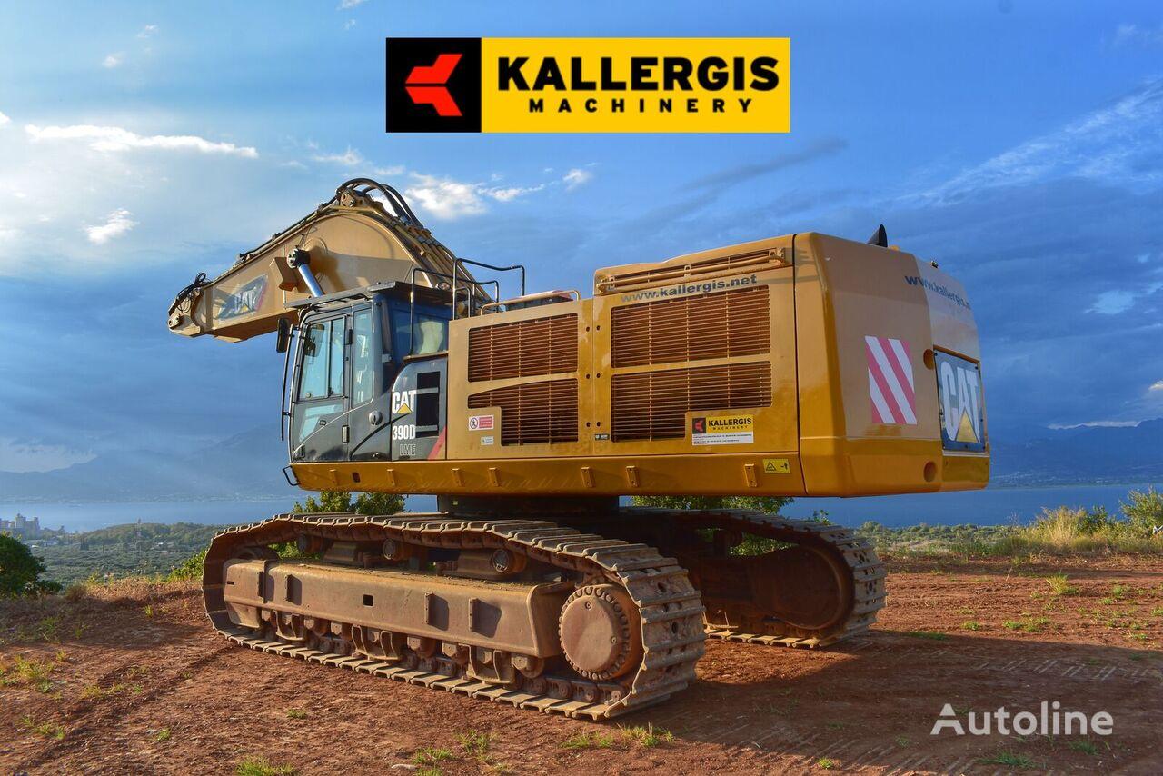 CATERPILLAR 390DLME tracked excavator