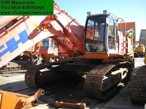 FIAT-HITACHI EX455 tracked excavator