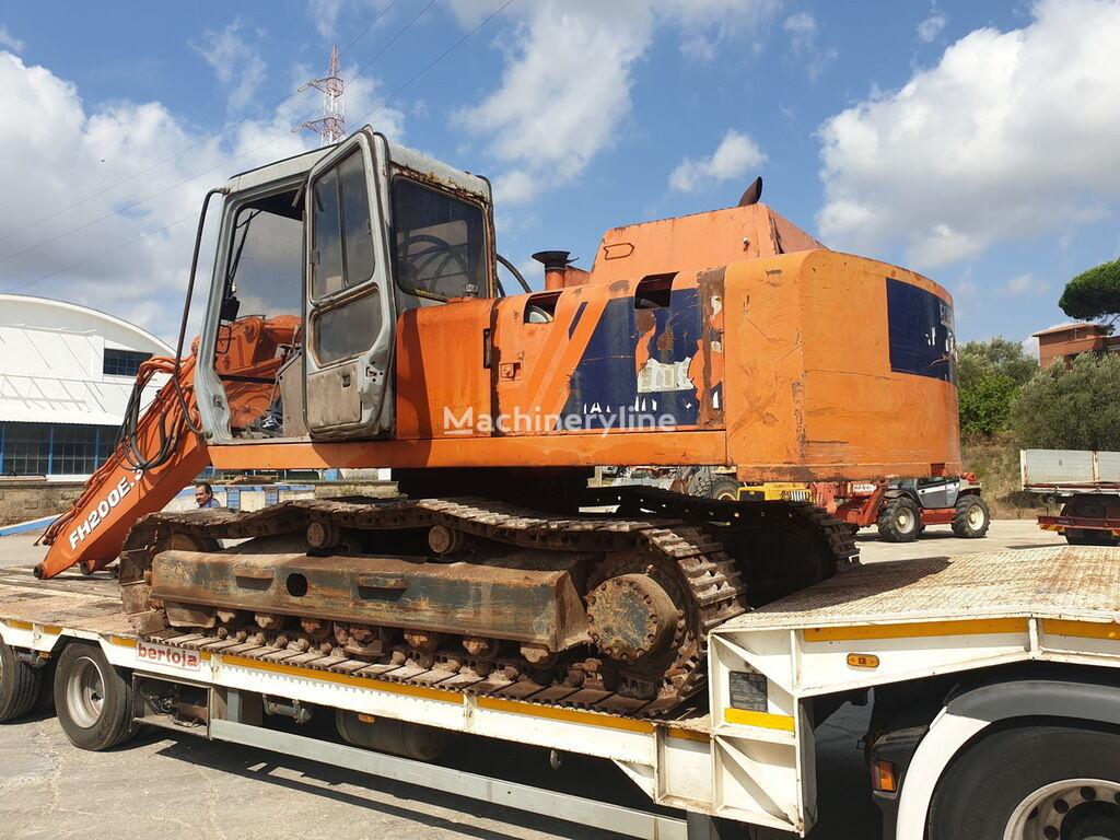 FIAT-HITACHI FH200-3 tracked excavator