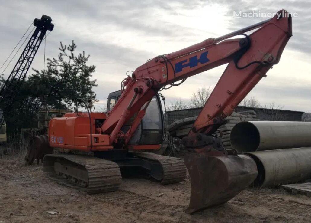 FIAT-KOBELCO EX135 Iveco Engine tracked excavator