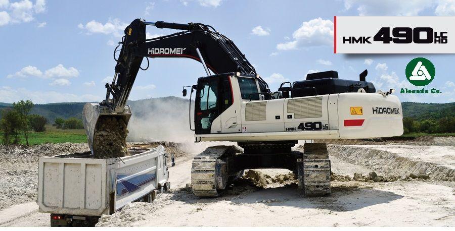 new HIDROMEK  HM 490 LC HD (0676906868, Dmitro) tracked excavator
