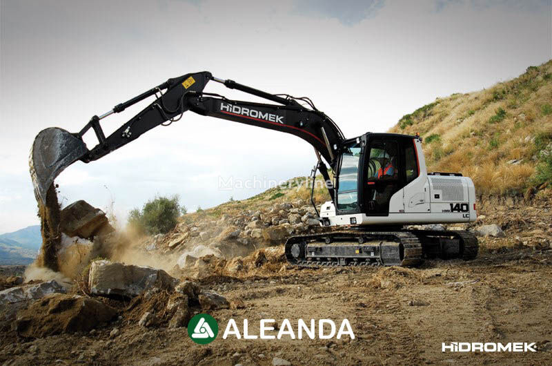 new HIDROMEK  HMK 140 LC tracked excavator